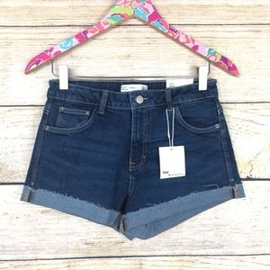 Zara Shorts - NWT ZARA high waist shorts size 4 // H09